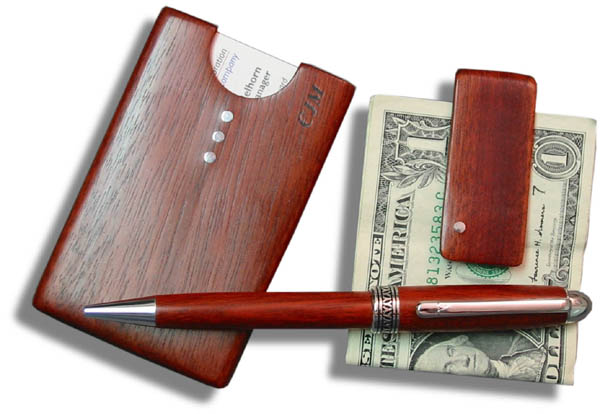 Executive accessories pocket business card holder money clip and european ballpoint pen colourmoves